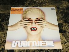 Katy Perry Rare Sealed Witness Double Vinyl LP Record Set Pop Rock Free Shipping
