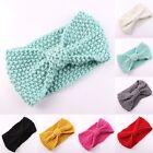 Cute Kids Girl Baby Toddler Crochet Bow Headband Hair Band Accessories Winter