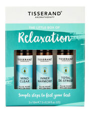 Tisserand LITTLE BOX OF RELAXATION Mind Clear/De-Stress/Harmony Rollerball Trio