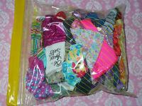 Mattel Barbie Doll Clothing Lot HUGE 50 piece Grab Bag of Barbie Doll Clothes #1