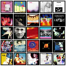 THE CURE - 25 pack of album cover discography magnets lot bowie smiths new order