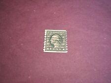 US Stamp Scott# 412  Washington  1912  C212