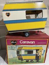 Sindy Vintage Wooden Caravan With Box Pedigree Doll Accessories