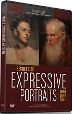 NEW Tony Pro: Secrets of Expressive Portraits - Art Instruction DVD