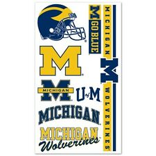 Michigan Wolverines Temporary Tattoos