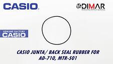 CASIO JUNTA/ BACK SEAL RUBBER, PARA MODELOS. AD-710, MTR-501