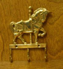 BRASS HOOK #641 SMALL CARROUSEL HORSE HOOK, New From Retail Store, Llards Ltd