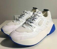 Brand-new Men's Stella McCartney White/Blue Eclypse Sneakers in US 11/Euro 44