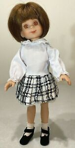 """Thoroughly Modern Betsy Black & White DRESS ONLY Made by Tonner 14"""" Betsy McCall"""