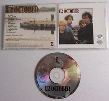 U2 OCTOBER CD album NO BARCODE CANADIAN NO BAR CODE
