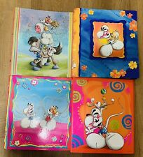 Diddl Collection - 4 Binders/Classeurs Lenticular - Dutch, Frence, German - Rare