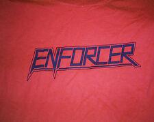 T-Shirt ENFORCER - SAME * RED + BLACK-BLUE LOGO * GILDAN  XL 100% COTTON NEU