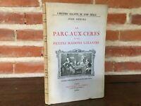 Rick El Parque a Las Ciervo Histoire Galante Biblioteca Las Curious 1925