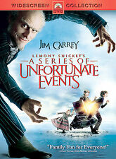 Lemony Snickets a Series of Unfortunate Events Widescreen edition DVD