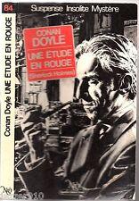 NEO n°84 # CONAN DOYLE # UNE ETUDE EN ROUGE # SHERLOCK HOLMES # 1984