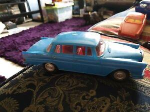 MARX Mercedes-Benz 220se car rare hong kong blue