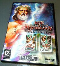 AGE of MYTHOLOGY GOLD  Originals UK PC game VGC