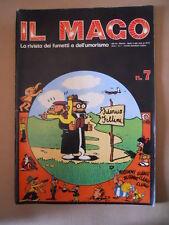 IL MAGO n°7 1972 Jack Mandolino di Jacovitti - Fumetti Fellini  [P47] Buono