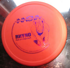 Innova Rhyno Vintage Golf Disc Heavy 1999 Bar Stamp Dx Ontario w/Purple Stamp