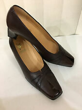 Spring Step Bordo Patent Leather Cushioned Classic Shoes Sz 41 (US 10-10.5)