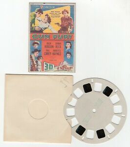 Gun Fury - Rock Hudson Donna Reed Deleted Scenes View-Master Movie Preview Reel