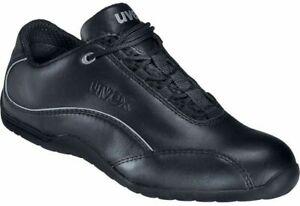 Uvex Motorsports Safety Shoes Nappa Leather Steel Toecap Anti-Static S1 Unisex