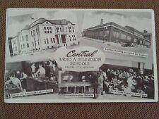 1949 POSTCARD AD AIRLINE AIRPLANE RADIO TELEVISION SCHOOL KANSAS CITY MISSOURI