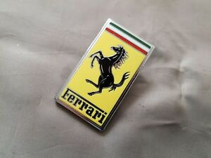 Ferrari front emblem badge porcelain 65394800 62673100 ? 360 Modena 458 599 GTB