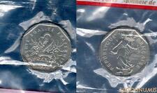 V République 1959 - ESSAI 2 Francs 1978 Semeuse SUP FDC