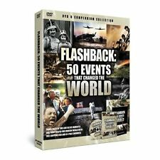 50 EVENTS THAT CHANGED THE WORLD  (DVD ) REGION 2 BRAND NEW