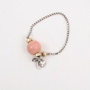 Fiorina Silver Box Chain 'Comfort' Bracelet
