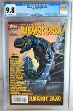 Return to Jurassic Park #9 Rare Last Issue Topps 1996 CGC 9.8 NM/MT Comic R0090