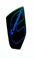 DODGE RAM DIESEL GRILLE EMBLEM 2006-2010  Black/BLUE Outline