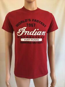 Burt Munro Worlds Fastest Indian Motorcycle Bonneville Salt FlatsT shirt