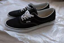 Schwarze Vans Era Unisex Sneaker - Größe 45 - einmal getragen, quasi NEU.