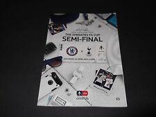 2017 FA CUP SEMI FINAL CHELSEA V TOTTENHAM *OFFICIAL PROGRAMME*