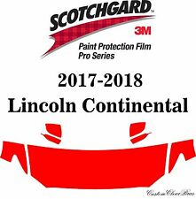 3M Scotchgard Paint Protection Film Pro Series 2017 2018 Lincoln Continental