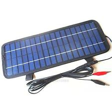 4.5W 12V Smart Power Solar Ladegerät für Auto Boots Motorrad  Solarladegerät NEU