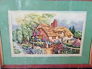 Dimensions 1995 Bedfordshire Sunset Cross Stitch Kit 3796 New Pack Not Perfect