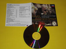 CD PROMO RAVEL L ENFANT ET LES SORTILEGES/SHEHERAZADE PAR SEJI OZOWA