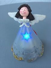 Multi-Color Lighted Angel Ornament