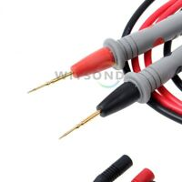 1000V 20A Needle Point Soft SILICONE MultiMeter test probe lead for fluke etc.
