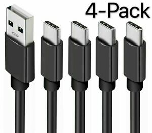 4 Pack 6ft OEM Samsung USB C Type Cable Fast Charger For Galaxy S8 S9 S10 Plus