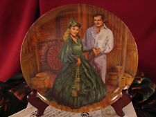 Scarlett'S Green Dress Gone with the Wind Knowles Bradford Plate Box Coa #Sgd