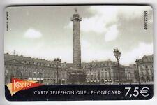 FRANCE  TELECARTE / PHONECARD  PREPAYEE .. 7€50 KERTEL PARIS BASTILLE 75 +N°