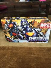 "Sentinel 16"" With Wolverine Marvel Universe Legends MOC Con Comics"