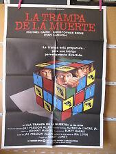 A1148  LA TRAMPA DE LA MUERTE. MICHEL CAINE, CHRISTOPHER REEVE, DYAN CANNON