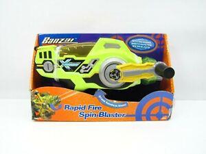 Toy Quest BANZAI Turbo X Spin Blaster Water Gun Rapid Fire Rare Shooter Soaker