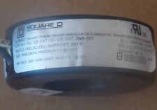 Square D 2NR-201 Current Transformer 200:5 Ratio Window, Used