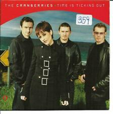 THE CRANBERRIES - TIME IS TICKING OUT CD SINGLE 2 TRACK PROMO 2001
